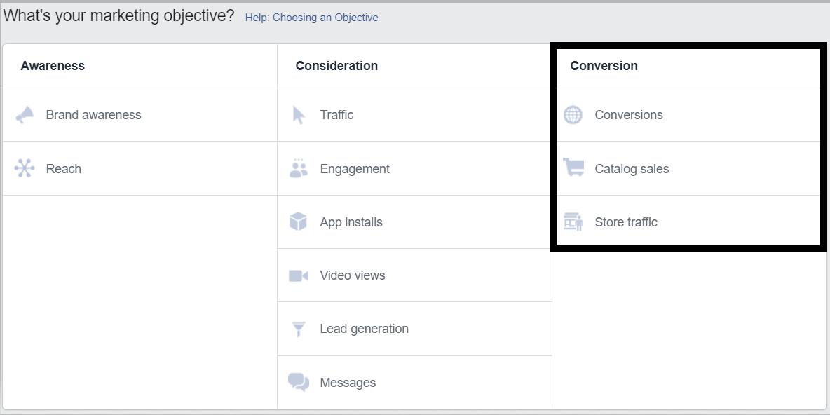 Comment faire de la publicité sur Facebook? La conversion